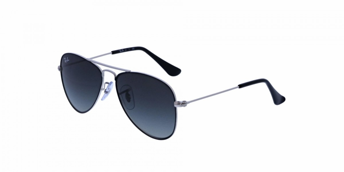 Ray-Ban Junior 9506S 271/11 50, 50,39 €, Occhiali Ray Ban Junior Nero a forma Goccia aviator