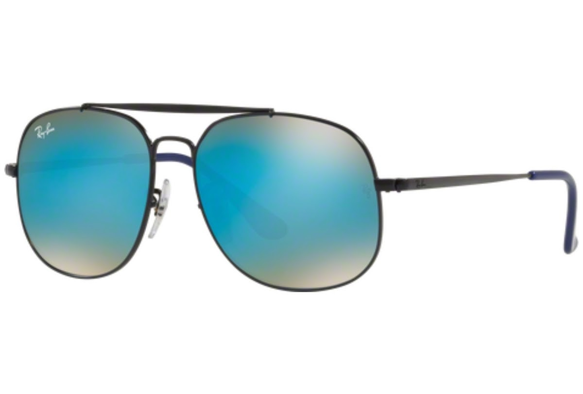 Ray-Ban Junior 9561S 267/B7 50, 52,10 €, Occhiali Ray Ban Junior Nero a forma Squadrato