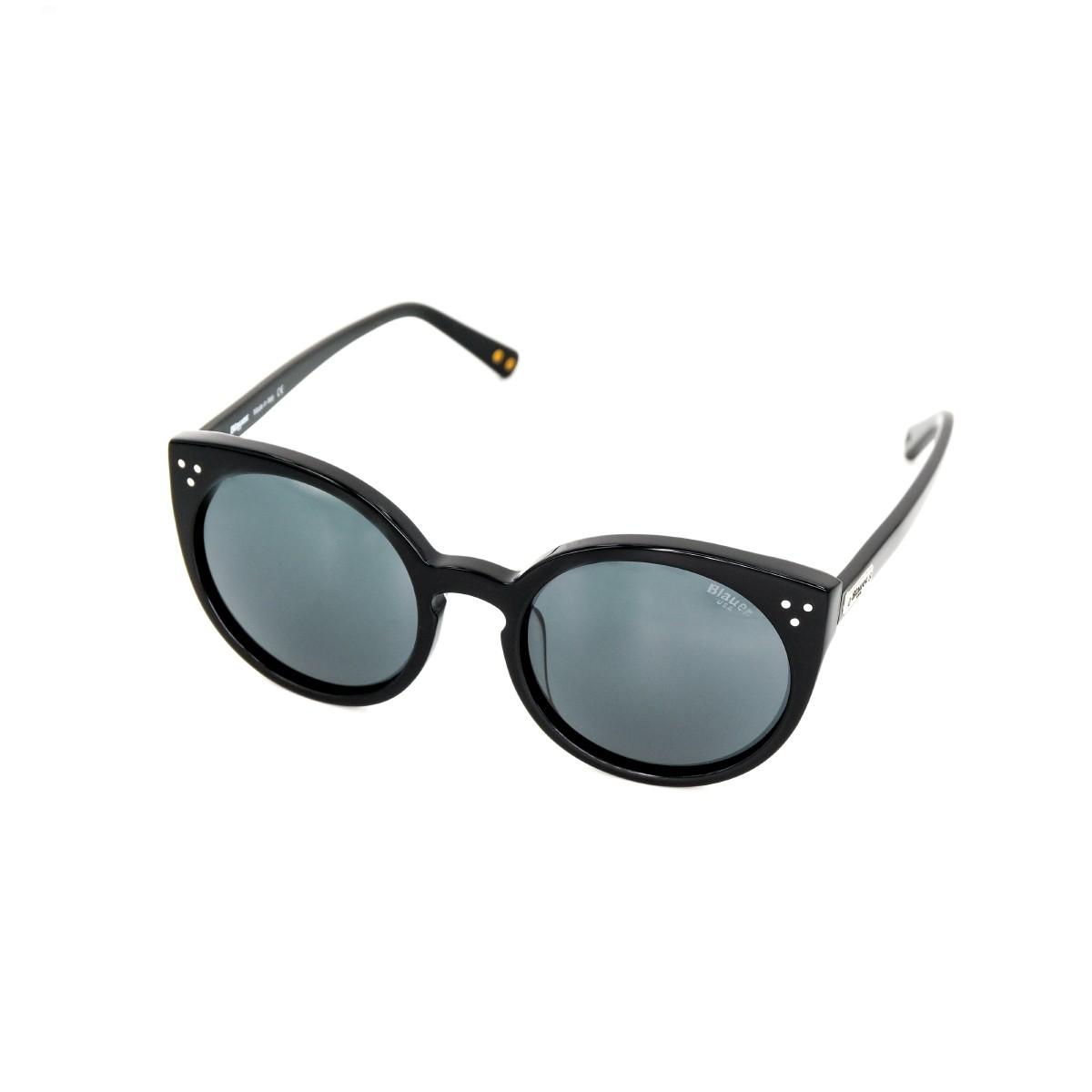 Blauer Dalya 515 nero lucido 01, 104,00€, Occhiali Blauer Nero a forma Rotondo
