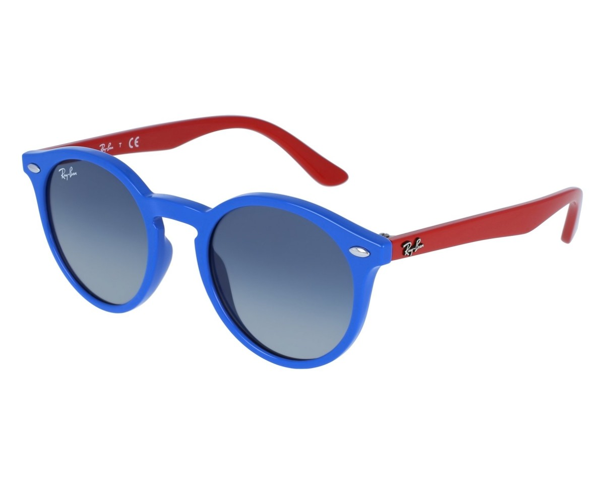 Ray-Ban Junior 9064S 70204L 44, 53,50 €, Occhiali Ray Ban Junior Blu a forma Ovale