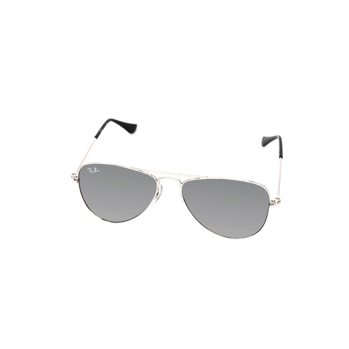 Ray Ban Junior 9506 212/6G, 56,00 €, Occhiali Ray Ban Junior Argento a forma Goccia aviator