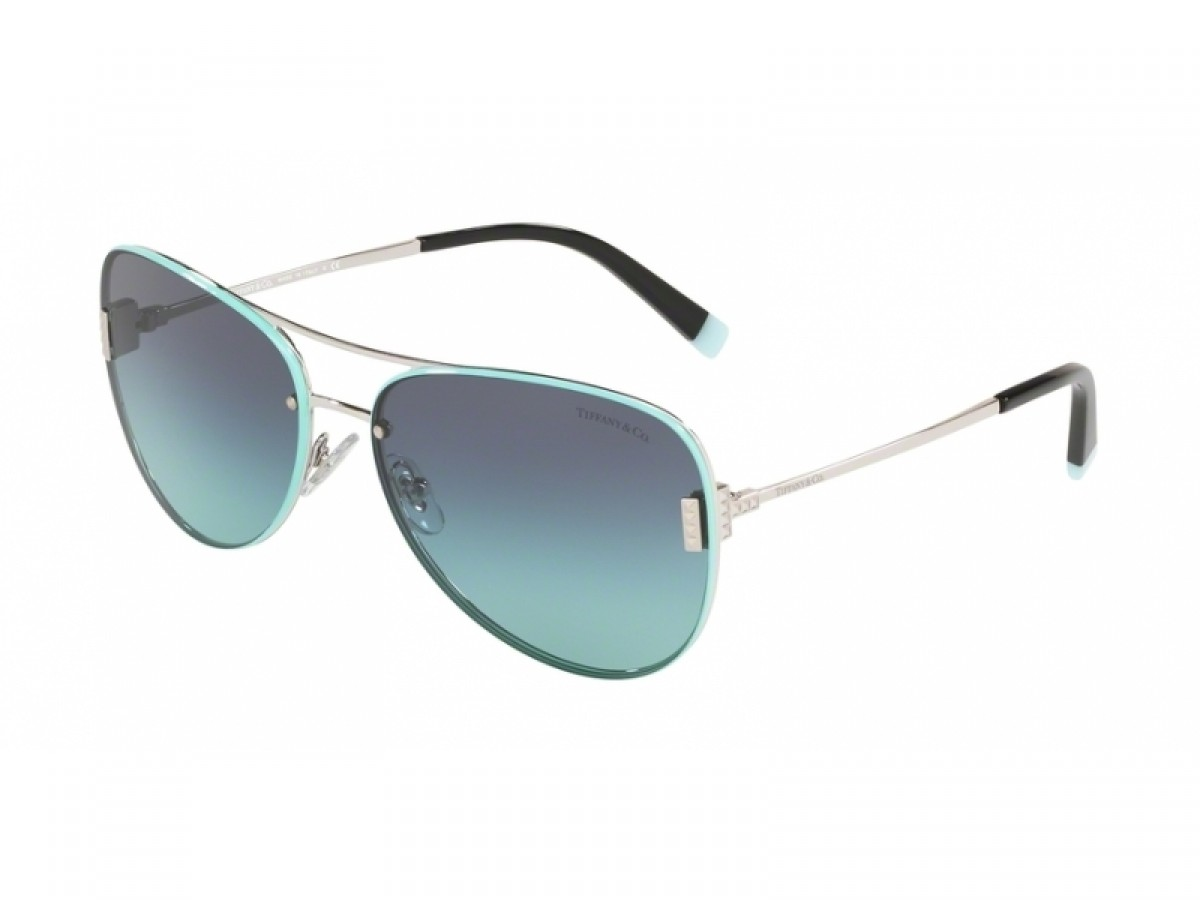 Tiffany & Co. 3066 60019S 62, 261,99 €, Occhiali Tiffany & Co. Argento a forma Goccia aviator