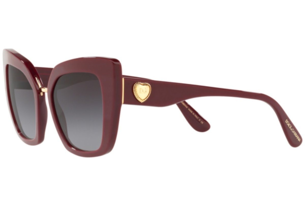 Dolce & Gabbana 4359 30918G 52, 168,99€, Occhiali Dolce&Gabbana Rosso a forma Squadrato