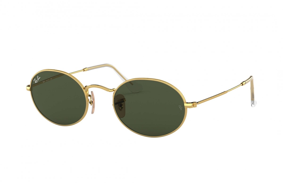 Ray-Ban 3547 001/31 51, 90,16 €, Occhiali Ray Ban Oro a forma Ovale