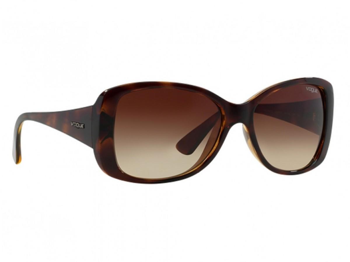Vogue 2843S W65613 56, 55,71€, Occhiali Vogue Marrone a forma Squadrato