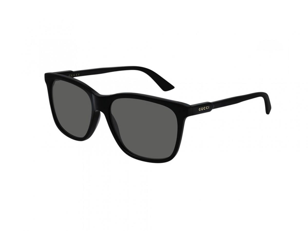 Gucci GG0495S 001 57, 200,00€, Occhiali Gucci Nero a forma Rettangolare