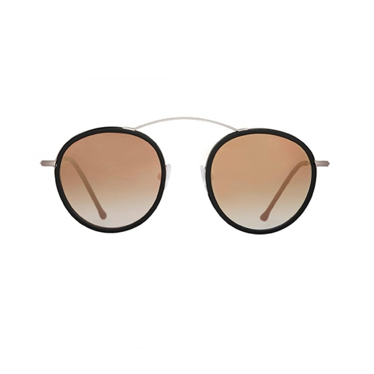 Spektre Metro 2 Flat Argento/Nero Sfumato Specchio Oro, 220,00€, Occhiali Spektre Argento a forma Ovale