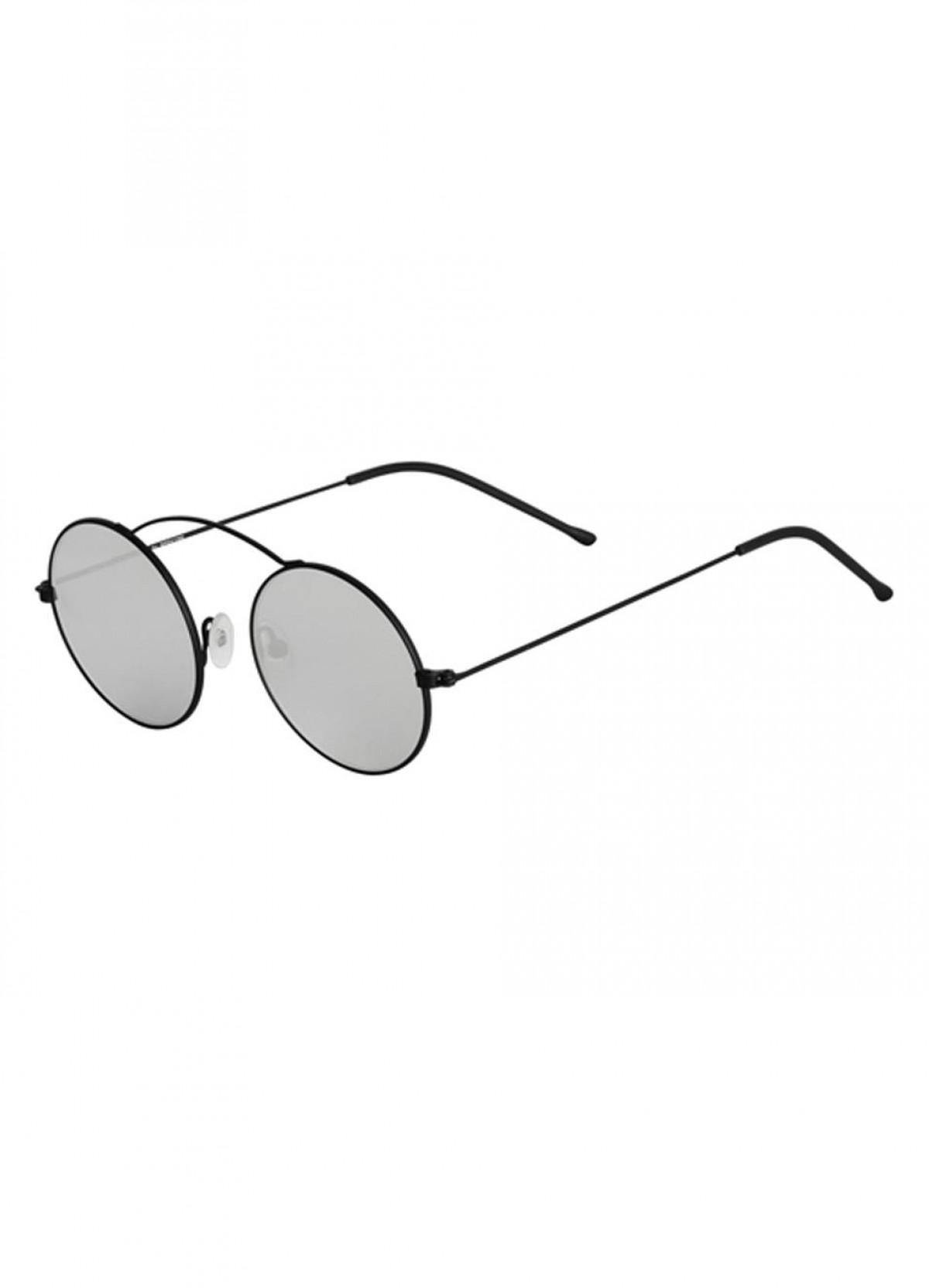 Spektre Metro Nero / Specchiato Argento, 120,00€, Occhiali Spektre Nero a forma Ovale