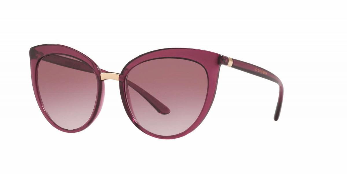 Dolce & Gabbana 6113 17548H 55, 110,99€, Occhiali Dolce&Gabbana Rosso a forma Farfalla
