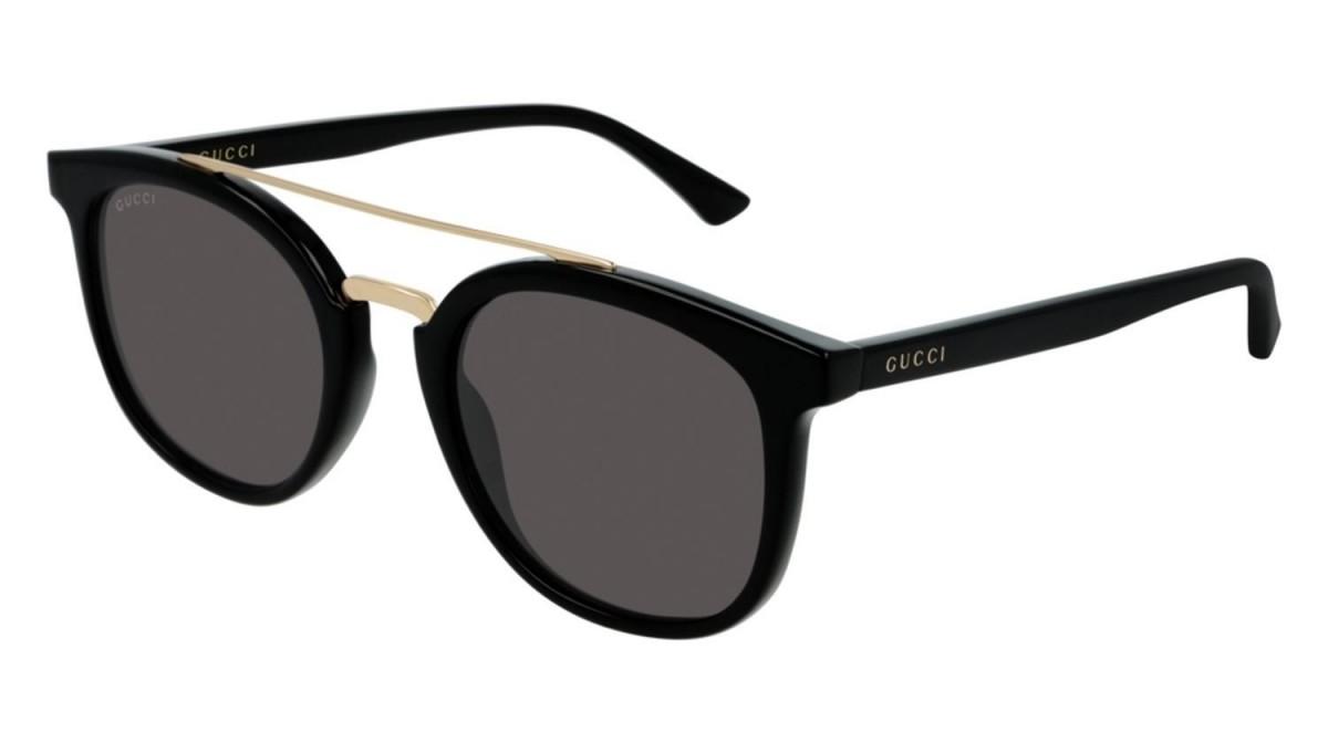 Gucci GG0403S 001 51, 167,99€, Occhiali Gucci Nero a forma