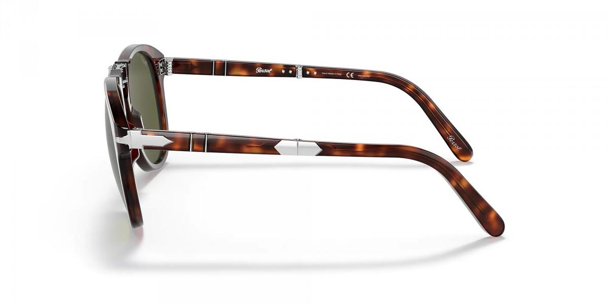 Persol Steve McQueen Limeted Edition 0714SM 24/P1, 300,00€, Occhiali Persol Marrone a forma Goccia aviator