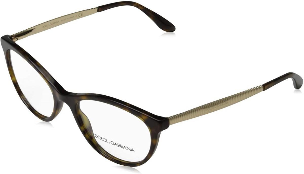 Dolce & Gabbana 3310 502 52, 176,00€, Occhiali Dolce&Gabbana Marrone a forma Gatto