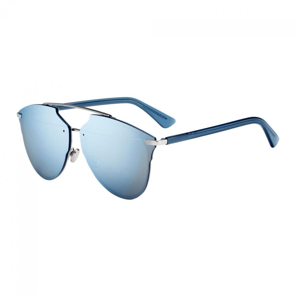 DIORREFLECTEDP S62, 390,00€, Occhiali Dior Blu a forma Rotondo