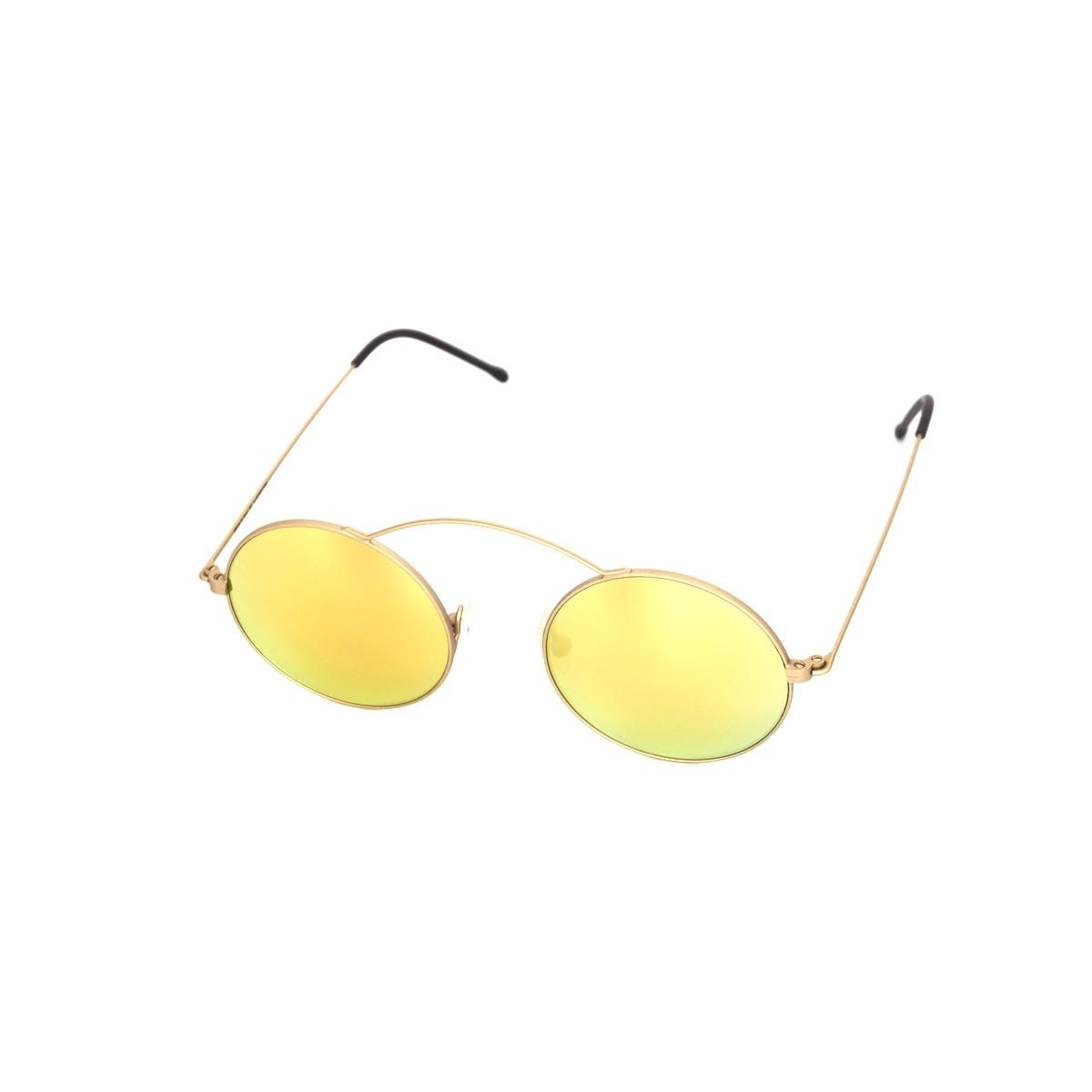 Spektre Metro Oro satinato oro specchio, 88,00€, Occhiali Spektre Oro a forma Rotondo