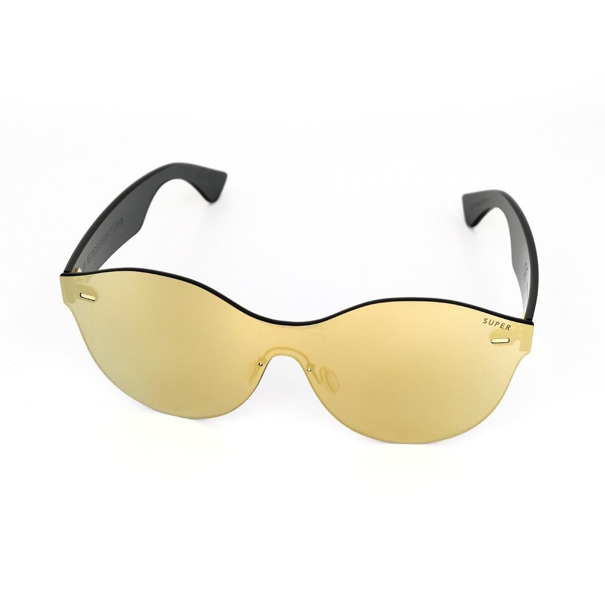 Super Tuttolente Mona Gold, 152,00€, Occhiali Super Oro a forma Mascherina