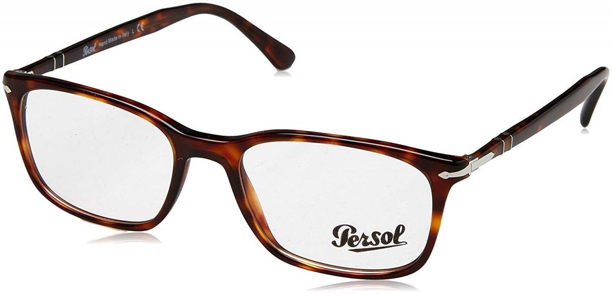 Persol 3189V 95 53, 215,00€, Occhiali Persol Nero a forma Rettangolare