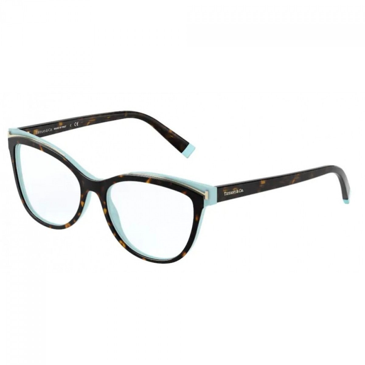 Tiffany&Co. 2192 8134 54, 159,00€, Occhiali Tiffany & Co. Marrone a forma Gatto