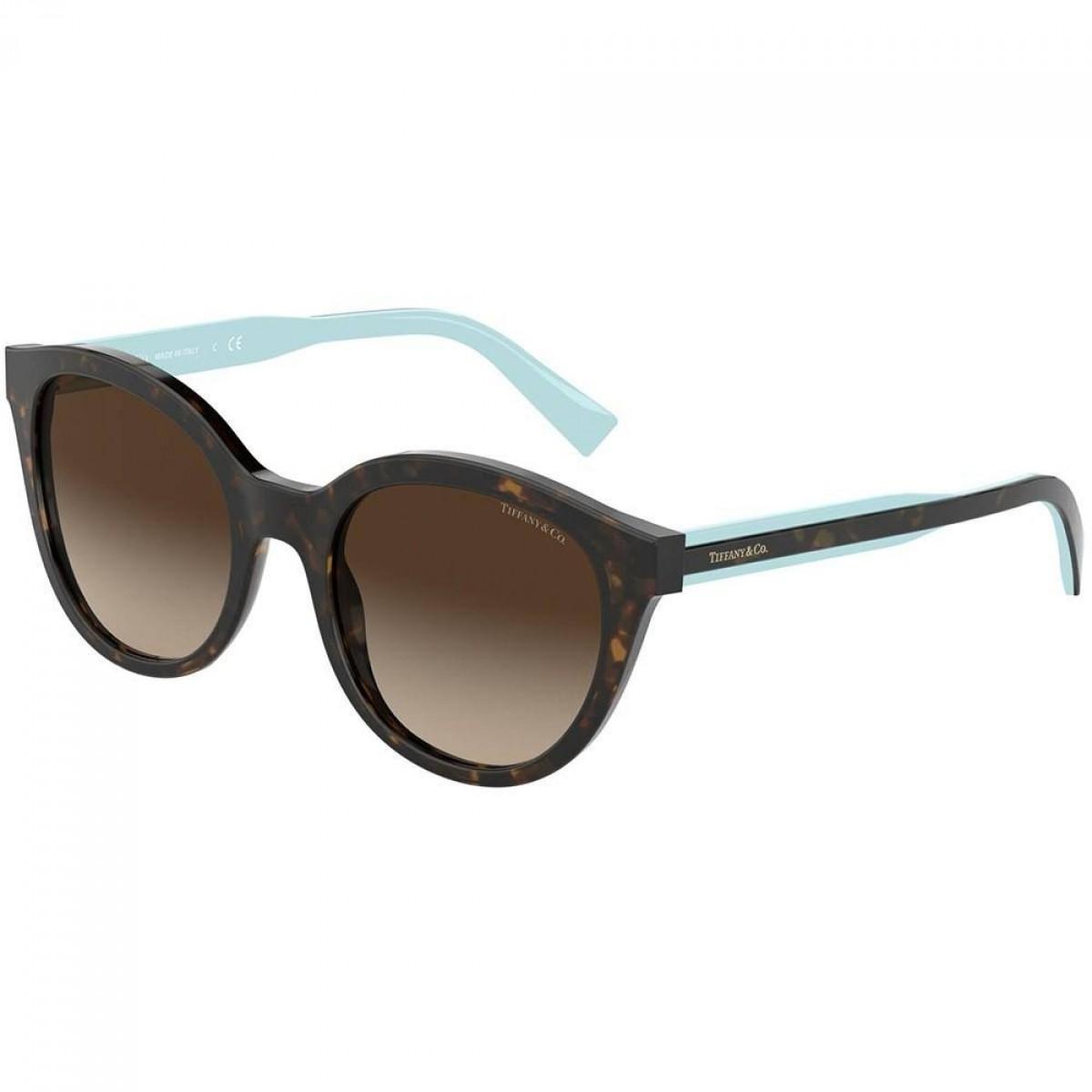 Tiffany & Co. 4164 80153B 52, 148,94€, Occhiali Tiffany & Co. Marrone a forma Rotondo