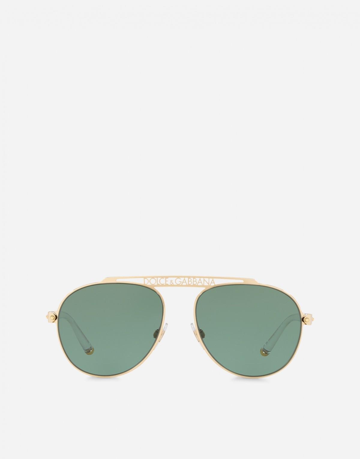 Dolce & Gabbana 2235 02/82 57, 115,99€, Occhiali Dolce&Gabbana Oro a forma Goccia aviator