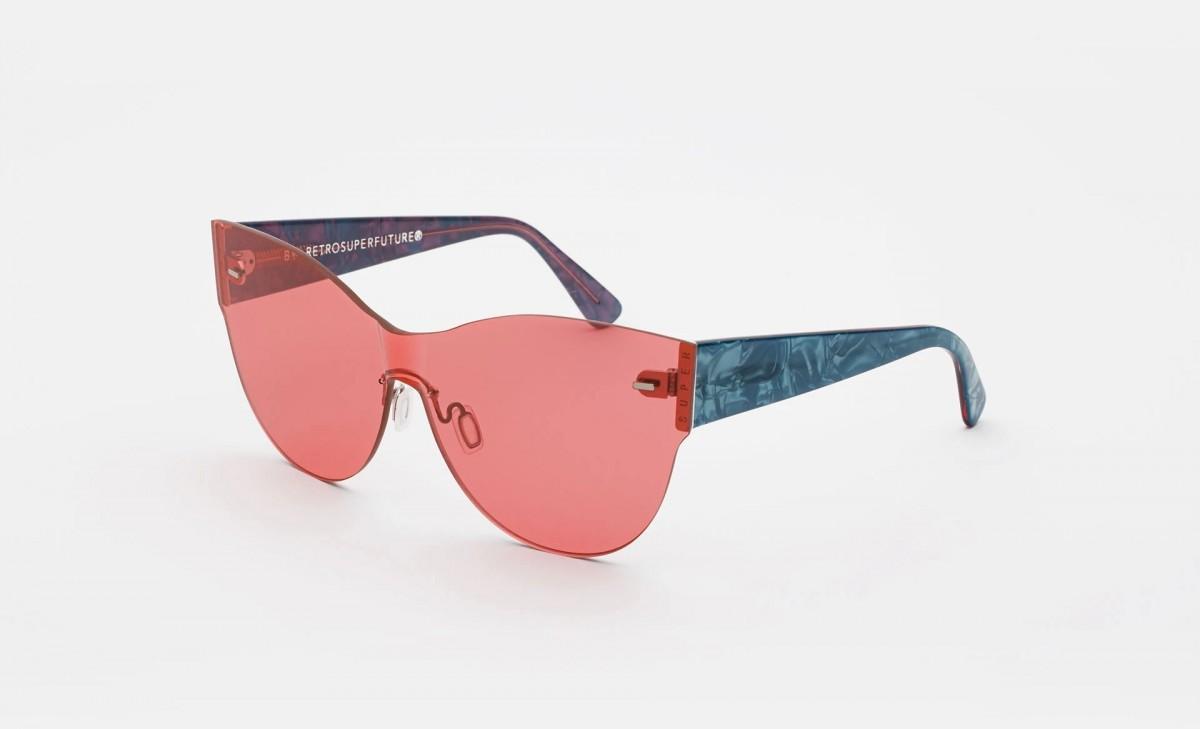Super Tuttolente Kim Amaranth, 195,00€, Occhiali Super Rosa a forma Mascherina