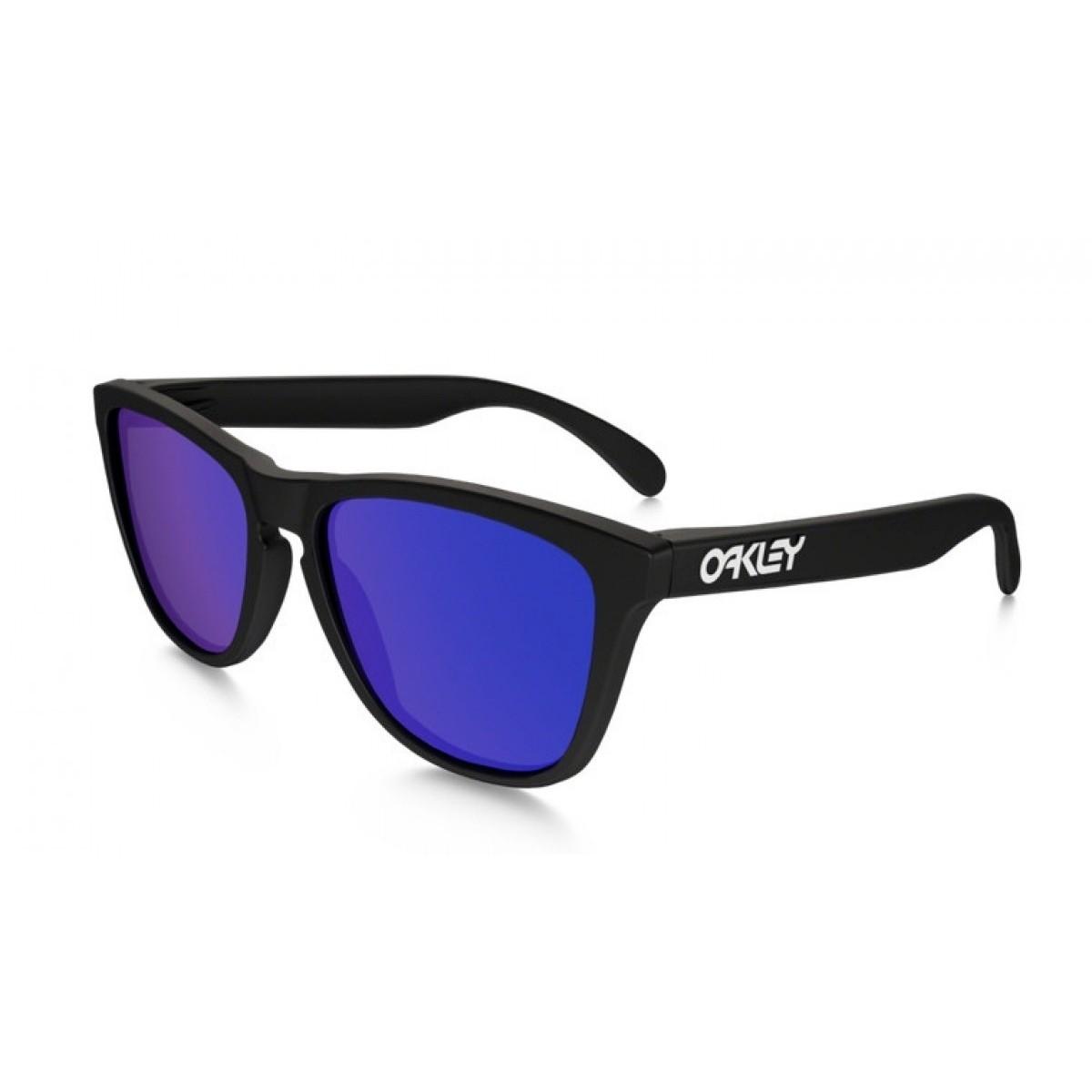Oakley Frogskin 24-298, 69,99€, Occhiali Oakley Nero a forma Squadrato