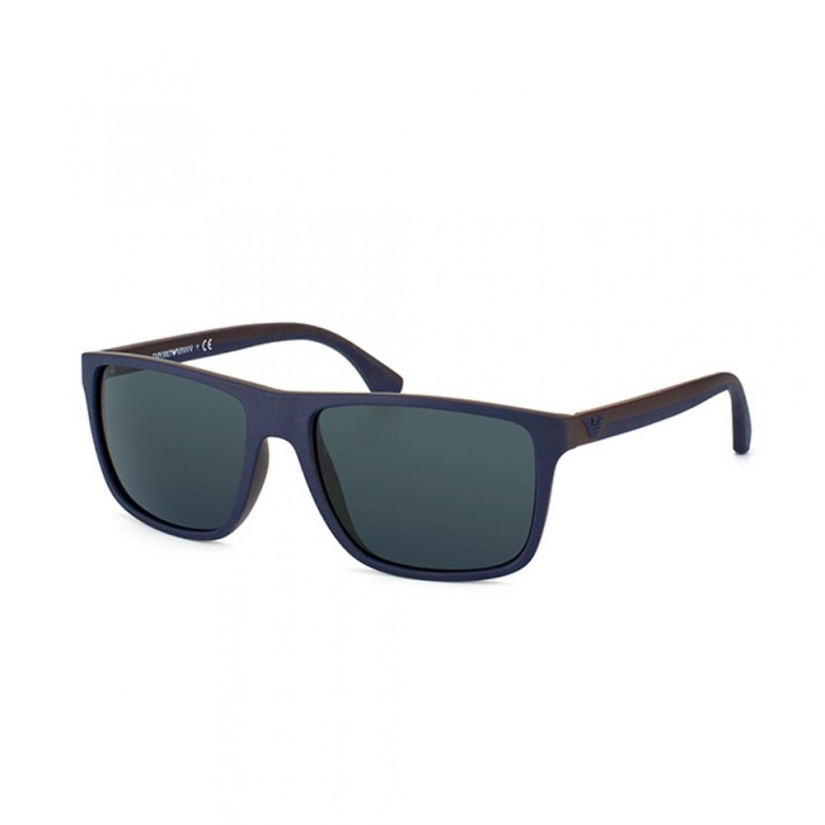 Emporio Armani 4033 523087 56, 108,00€, Occhiali Emporio Armani Blu a forma Rettangolare