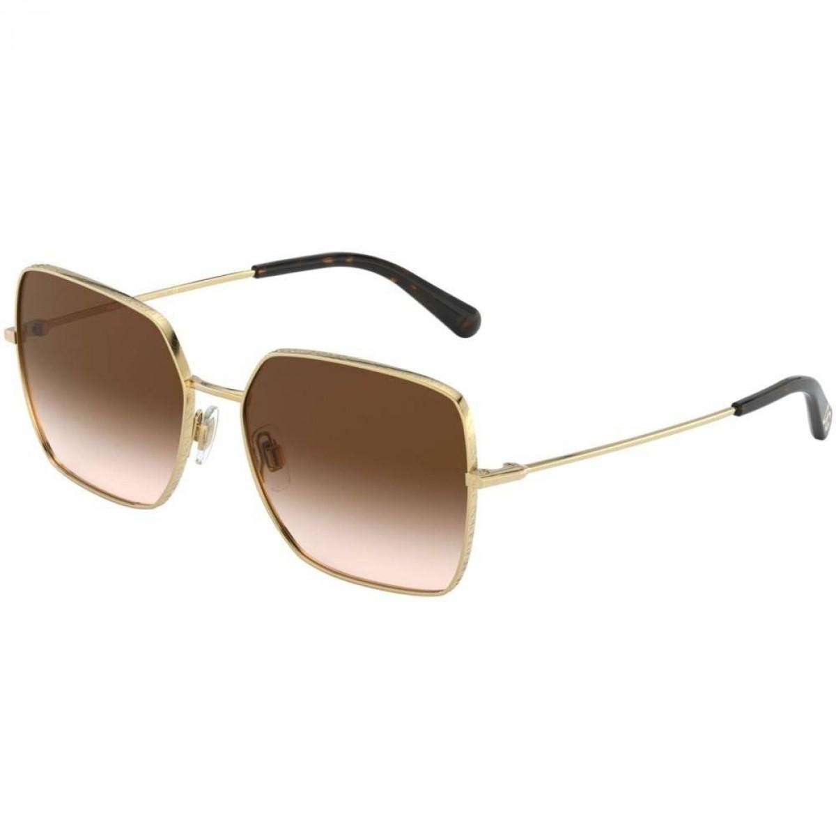 Dolce & Gabbana 2242 02/13 57, 136,50€, Occhiali Dolce&Gabbana Oro a forma Squadrato