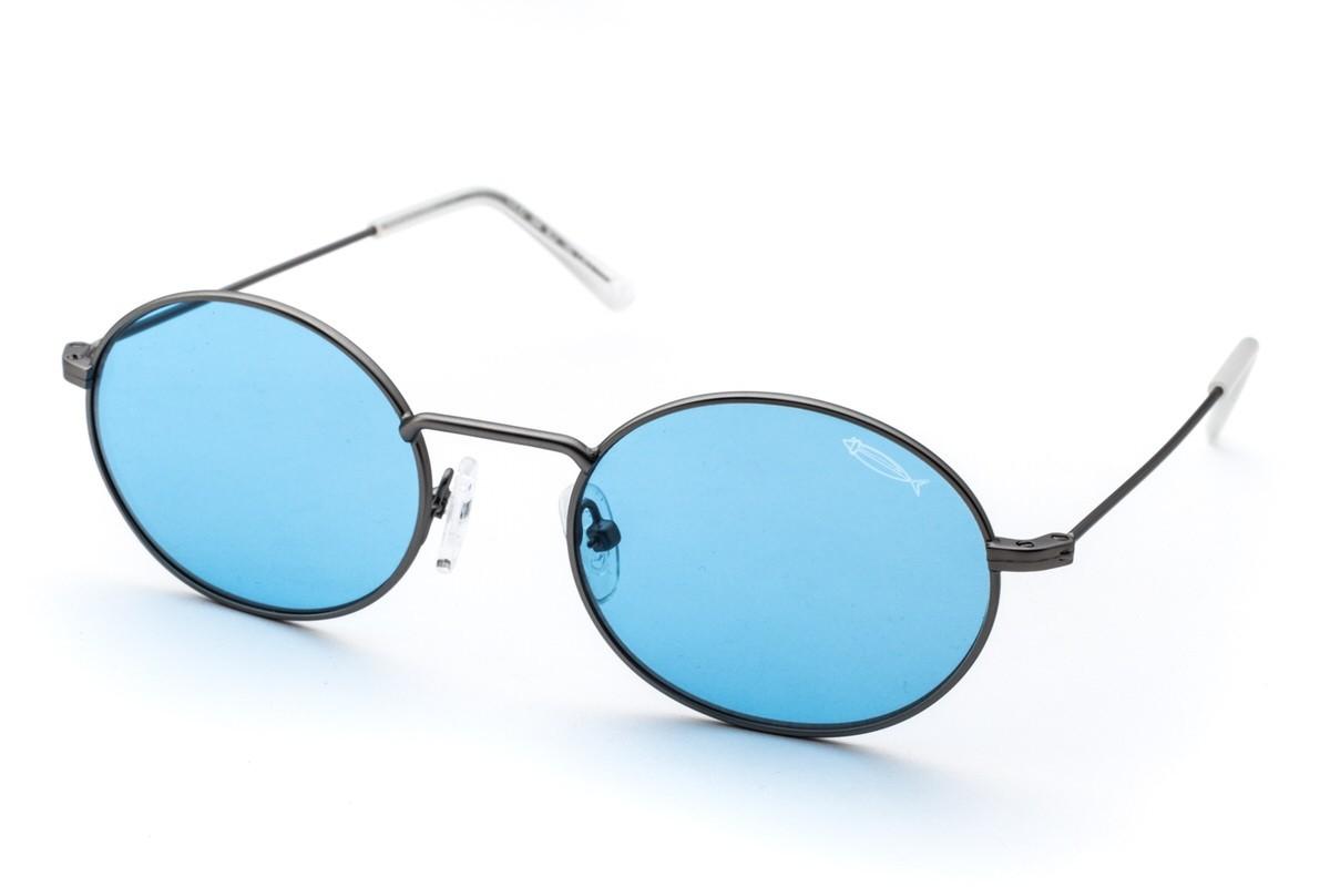 Saraghina Lucio 384 Blu, 96,00€, Occhiali Saraghina Grigio a forma Ovale