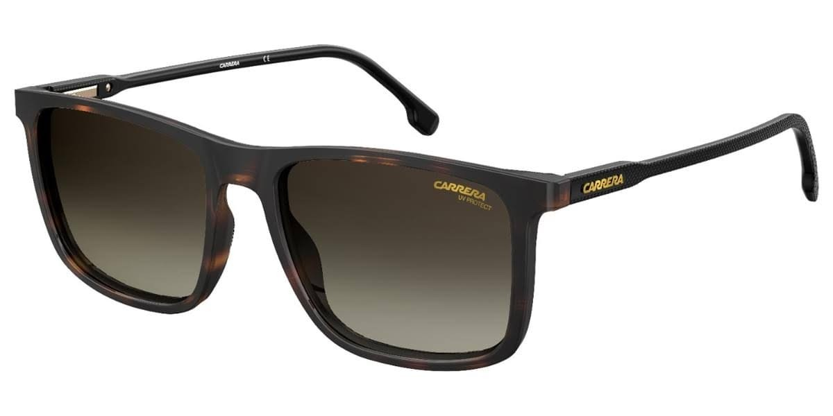 Carrera 231/s Colore 086/HA 55, 132,00€, Occhiali Carrera Marrone a forma Rettangolare