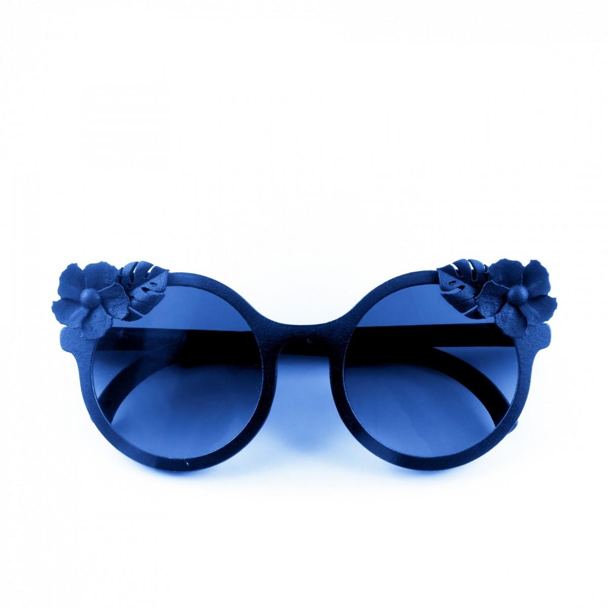 Cambiami Ibisco donna blu, 90,00€, Occhiali Cambiami Blu a forma Rotondo
