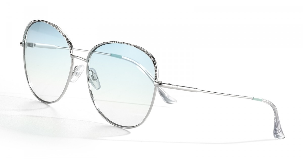 Airport Singapore cat-eye squared color argento S0226, 90,00 €, Occhiali Centrostyle Argento a forma Gatto